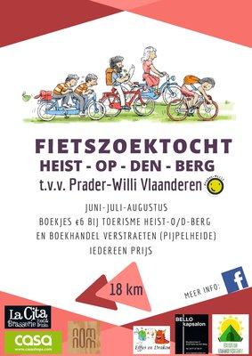 Ontspanning Fietszoektocht t.v.v. Prader-Willi Vlaanderen