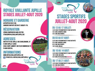 Stages,cours Stage multisports la Royale Vaillante Jupille
