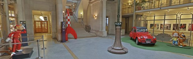 Expositions Visitez virtuellement dans Centre belge la bande dessinée