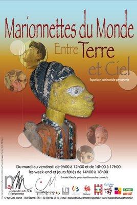 Expositions Exposition patrimoniale  marionnettes Monde, entre Terre Ciel