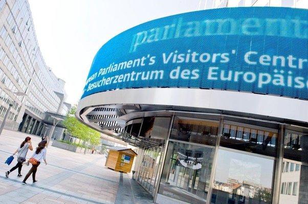 Expositions Parlamentarium, centre visiteurs Parlement éuropéen