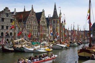 Ontspanning De bootjes Gent