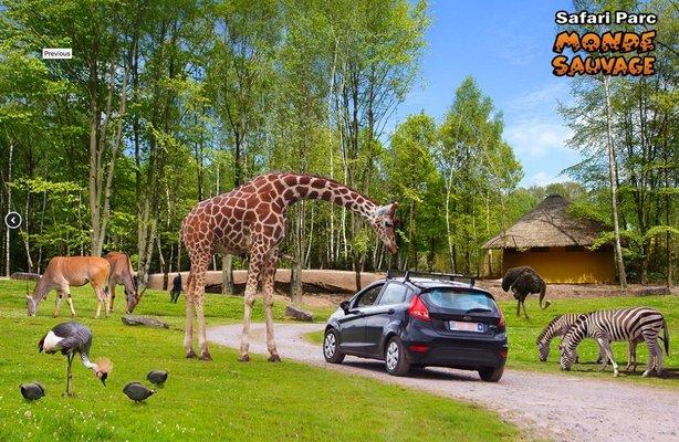 Loisirs Monde Sauvage Safari Parc
