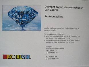 Expositions Le diamant le passé Zoersel