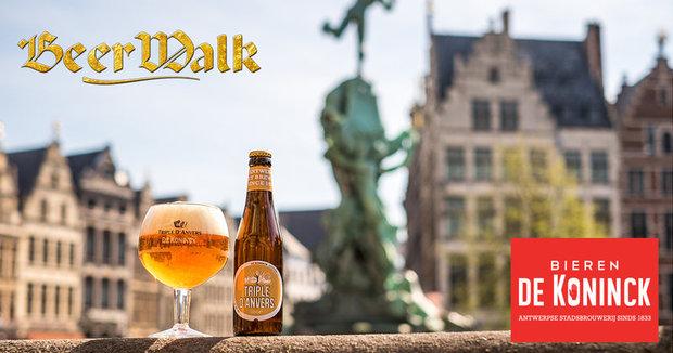 Ontspanning BeerWalk Antwerpen - Stadswandeling & Bierproeverij