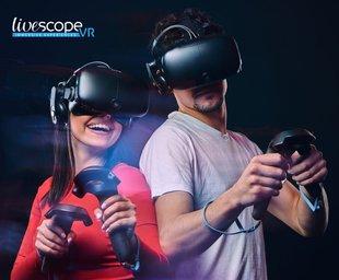 Ontspanning Livescope - D bestrijkt virtuele realiteit