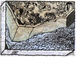Expositions Pierre Alechinsky - palimpsestes