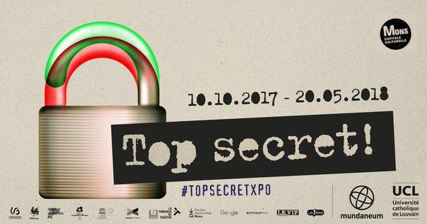 Expositions Top secret ! monde à décrypter