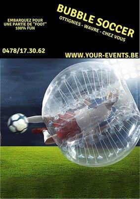 Loisirs Bubble Soccer Enfants Adultes
