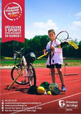 Stages,cours Pour euros, faites découvrir 3 sports an à enfants