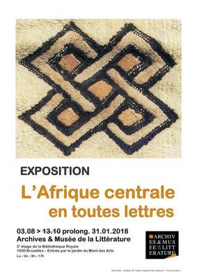 Expositions L Afrique centrale toutes lettres