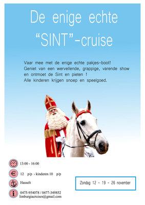 Ontspanning De enige echte Sint cruise