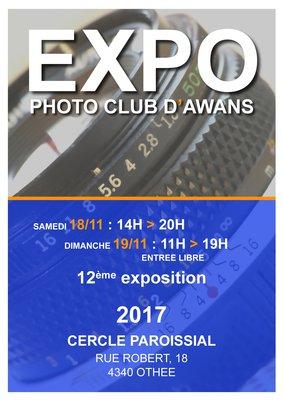 Expositions 12e Exposition Photo Club Awans