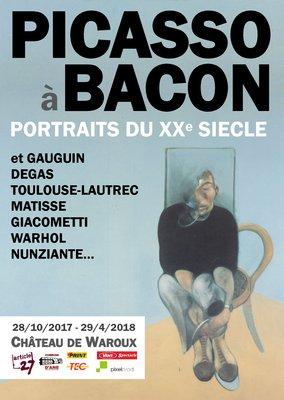 Expositions Picasso à Bacon : portraits Xxe siècle