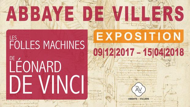 Expositions Expo : folles machines Léonard Vinci