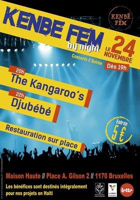 Concerts Kenbe By Night soirée concert