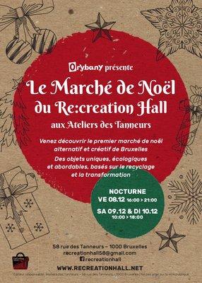 Marchés de Noël 4ème édition Marché Noël Re:Creation Hall