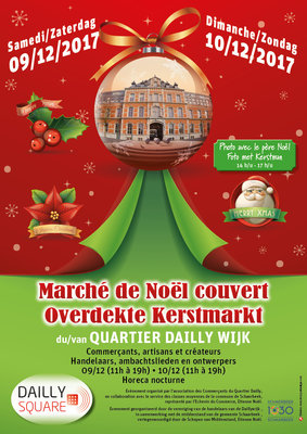 Marchés de Noël Marché Noël - Dailly Square - Kerstmarkt
