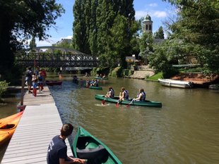 Ontspanning Kajak kanovaren de Leie Drongen (Gent)