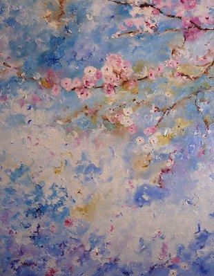 Expositions Moyo à Galerie Azur coeur Spa - Huile toile