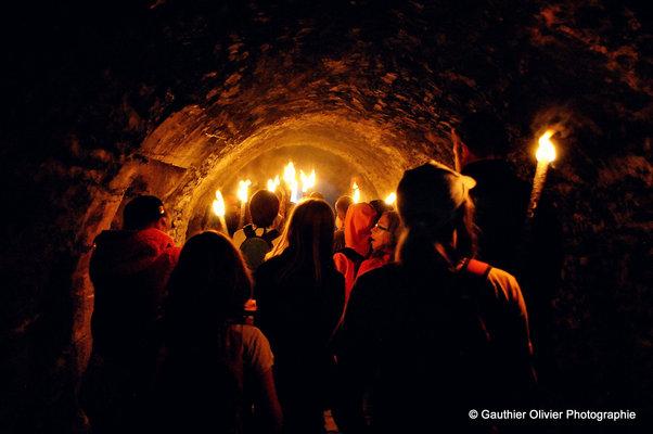 Loisirs Visites Nocturnes Château Fort Bouillon - Vacances d été