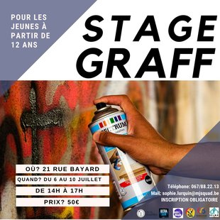 Stages,cours Stage Graff