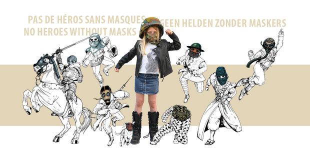 Ontspanning Geen helden zonder maskers