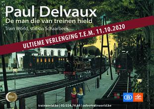 Tentoonstellingen Train World | Expo:  Paul Delvaux. Man van treinen hield
