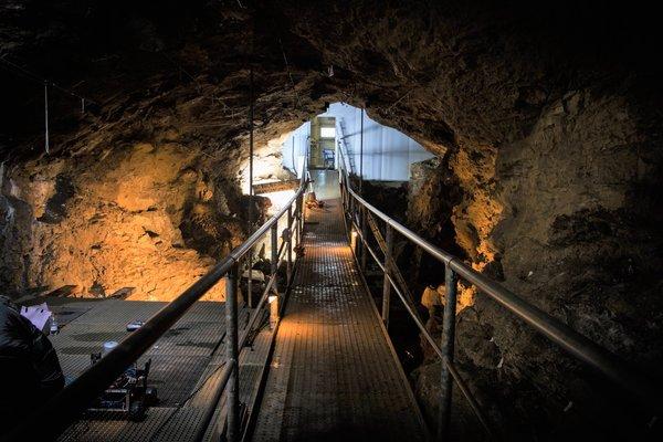 Loisirs Grotte Scladina visite guidée gratuite réservation