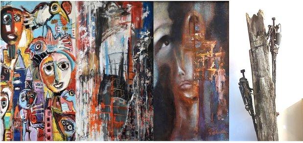 Tentoonstellingen Kleur & Passie : John Heyninck Inga Falkowska Margaret Bolinska & Bert Vangerven