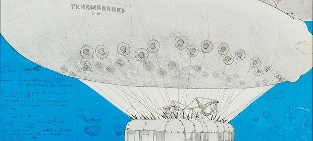 Tentoonstellingen Uit Collectie   Panamarenko (werken papier)