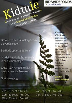 Tentoonstellingen Kidmie - kunstenaars dialoog industrieel verleden