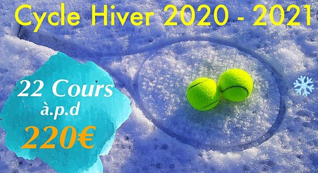 Stages,cours Cours Cycle Hiver -2021