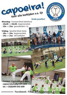 Workshops Capoeira training voor alle leeftijden