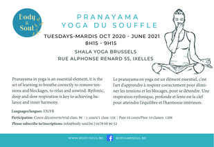 Stages,cours Yoga souffle - yoga breath