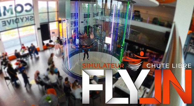 Loisirs Fly-In: Simulateur chute libre