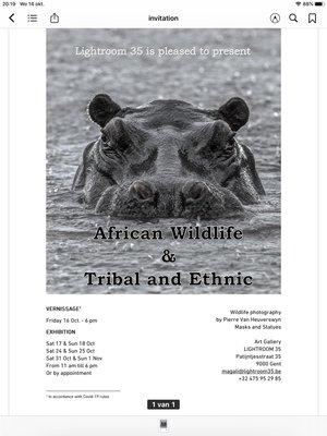 Tentoonstellingen African wildlife & Tribal ethnic