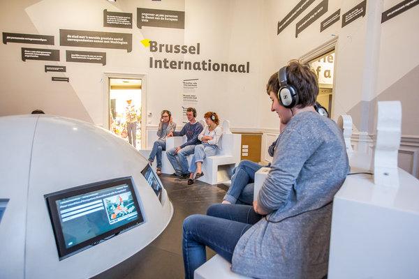 Expositions Experience.brussels, (re)découvrez Bruxelles
