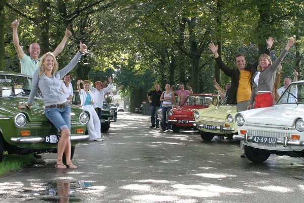 Ontspanning Dafje Auto Rally / Tourtocht Colonnerit