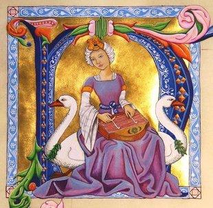 Stages,cours Atelier d enluminure médiévale