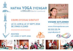 373e4e15a6d551 Hatha Yoga 1er cours d essai gratuit avec Viviane Gutlerner Bruxelles -  Quefaire.be