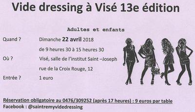 Loisirs Vide-dressing Visé édition