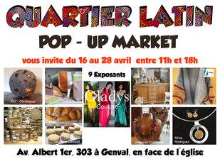 Expositions Quartier Latin Pop-Up Market