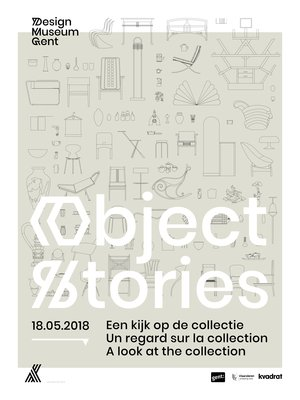 Expositions Object Stories. regard la collection
