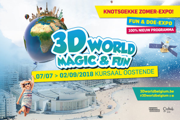 Tentoonstellingen 3D World Magic & Fun