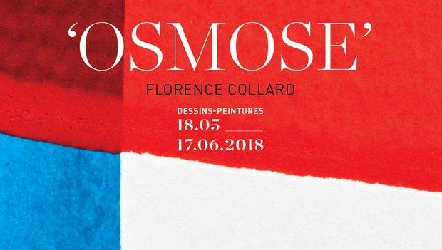 Expositions Florence Collard -  osmose  - peintures dessins