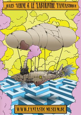 Expositions Jules Verne & Labyrinthe Fantastique