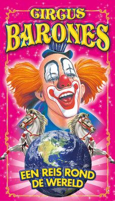 Voorstellingen Circus Barones  een reis rond wereld