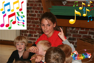 Stages,cours Eveil musical & yoga
