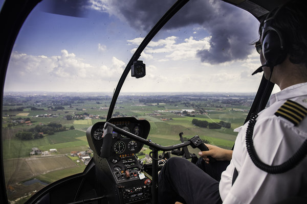 Ontspanning Helikoptervluchten vertek Wevelgem